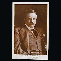 1908 Antique Photo Postcard, Theodore Roosevelt 26th President