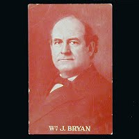 1908 Antique Photo Postcard, William J Bryan