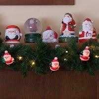 Vintage Santa Lights