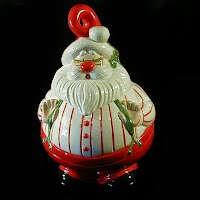 Vintage Santa Cookie Jar