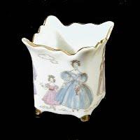 Antique Porcelain Toothpick Holder, 1880's