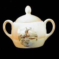 Vintage Eleanor Bavaria Sugar Bowl
