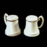 Antique Nippon Salt & Pepper Shakers, 1920's