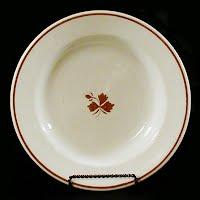 Antique Ironstone Tea Leaf Soup Bowl, 1910 Mellor Taylor and Co