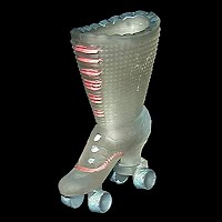 Antique High Shoe Roller Skate, 1910