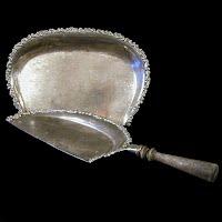 Antique Silver Crumb Set, Apollo Silver Co 1875