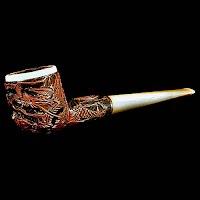 Vintage Pipe, Bakelite Stem