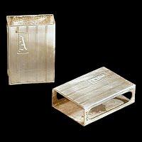 Antique Silver Matchbox Cases, 1930s