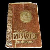 Antique World Famous EVERLASTING Needle Book, made in Germany