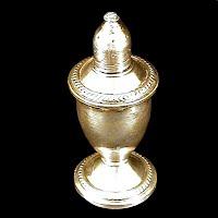 Antique Sterling Silver Salt Shaker