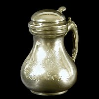 Antique Sliverplate Syrup Pitcher, 1870-1880