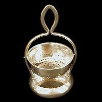 Antique Silver Tea Holder