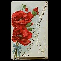 German Antique Postcard, Harry Anderson