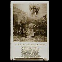 Antique Bamforth Postcard, I'll Take You home Again, postmark 1907