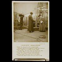 Antique 1908 Bamforth Postcard, Good-Bye Mavoureen