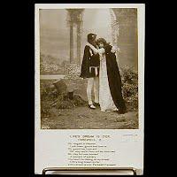 Antique Bamforth Postcard, Life's Dream