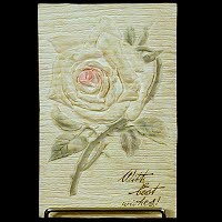Antique Postcard, Best Wishes