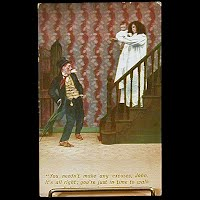 Antique 1911 Bamforth Postcard, Walk Baby