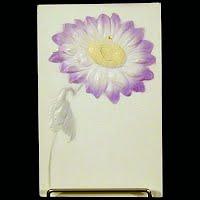 Antique Embossed Postcard, Flower