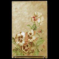 1910 Antique Embossed Postcard, Flower