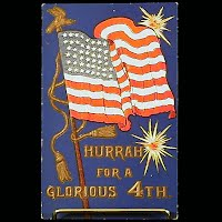 Antique 4th of July Postcard, Ullman  Co