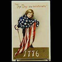 4th of July Postcard