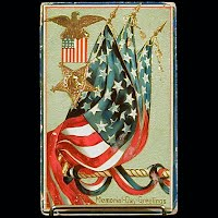 Antique Postcard, Memorial Day