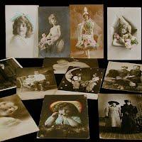 Antique, Vintage Real Photo Postcards