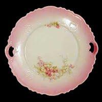 Antique Porcelain Bread Plate, before 1900's