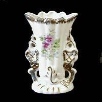 Antique Limoges Cottage Vase, 1900's France