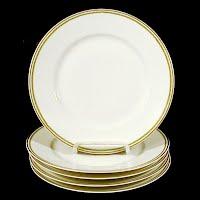 5 Haviland Dessert Plates,1893-1900 Theodore Haviland Limoges France