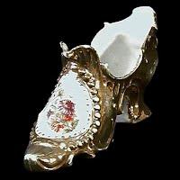 Antique Porcelain Shoe, 1890's