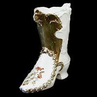Antique Porcelain Boot, 1890's