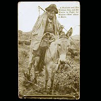 Real Photo Antique Postcard, Mexican Revolution