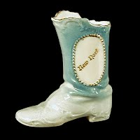 Antique Porcelain Boot, 1935 made in Germany