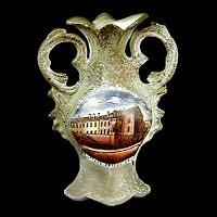 Antique Porcelain Vase, Souvenir Minnesota Stillwater State Prison, 1900's Germany