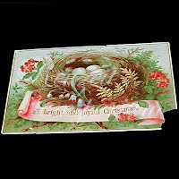 Antique Ephemera, Christmas, Bright Joyful Christmas