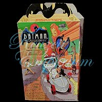 Vintage Ephemera Batman Happy Meal Box, 1993