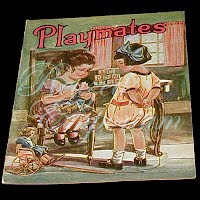 Antique Children's Book from The Golden Rule Store, Playmates