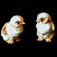 Vintage Lefton Yellow Chicks
