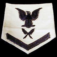 Vintage Antique USN Radioman Yeoman Badge 1940-1945
