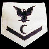 Vintage Antique USN Cook Ratings Badge 1940-1945