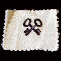 Vintage Antique USN Storekeeper Ratings Badge 1940-1945
