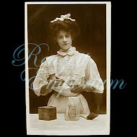 Antique 1908 Real Photo, Stirring Times Postcard