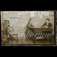 Antique  Real Photo Men Playing Cards Postcard