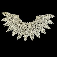 Antique Handmade 1890's Lace Collar
