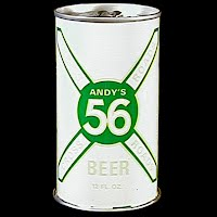 Vintage Beer Can, 1978 Green 56 Andy's Beer