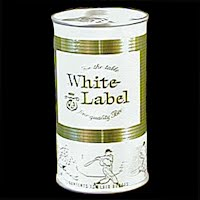 Vintage Beer Can, 1976 White Label Beer