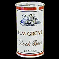 Vintage Beer Can, Red Elm Grove Beer