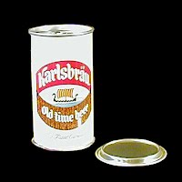 Vintage Beer Can, Karlsbrau Beer